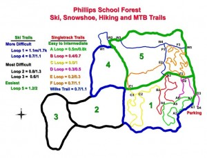 School Forest Trail Map